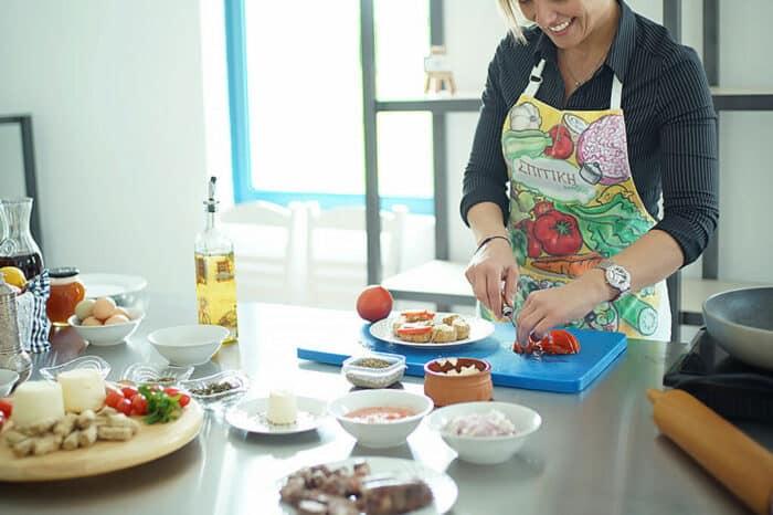 Private Cooking Workshop, Mykonos Farmers